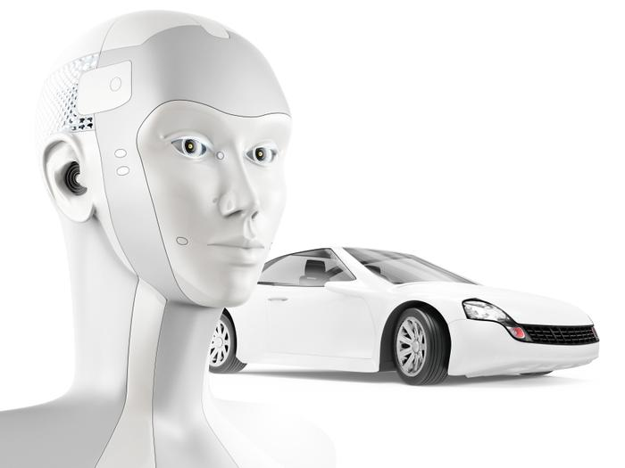 The self-driving car