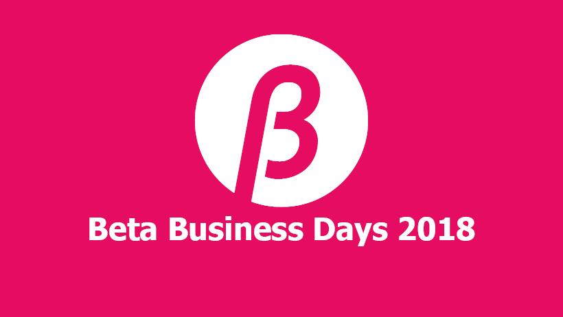 Beta Business Days 2017-2018